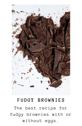 Recipe for Fudgy Brownies