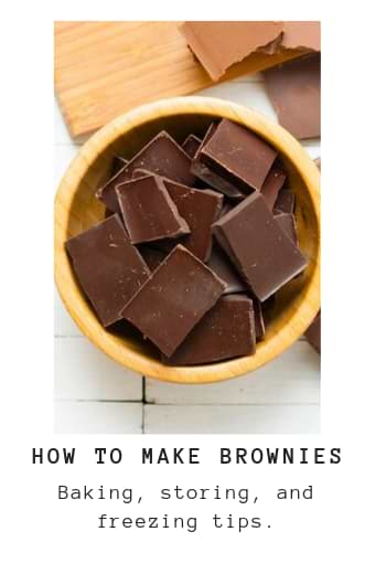 Detailed instructions to help anyone make the perfect homemade brownie