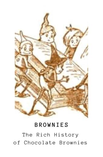 Chocolate brownie history