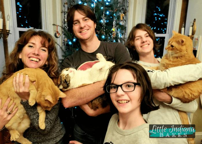 Nunemaker family 2020 New Years Eve