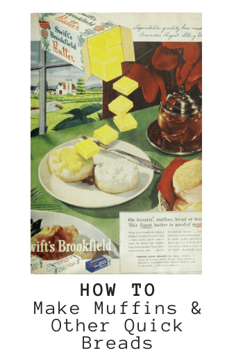 Making muffins and other quick breads is easy with this lengthy, informative guide
