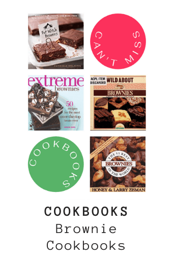 Excellent brownie cookbooks for sale