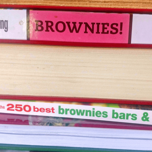 Cookbooks Featuring Brownies