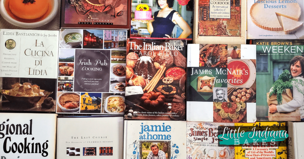 Cookbooks beginning with I J K or L in my collection