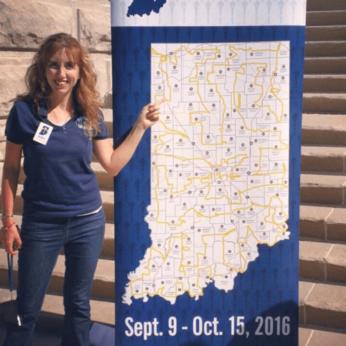 Selected to Represent Indiana County During Bicentennial