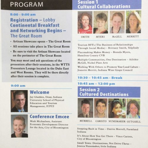 Midwest Cultural Tourism Conference: Presenter