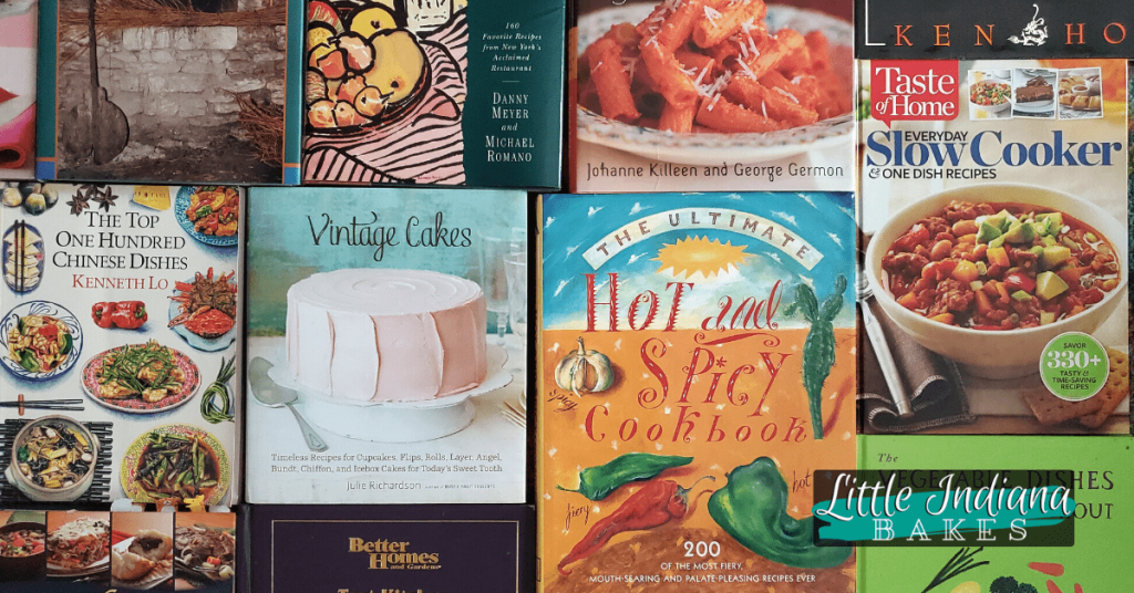 Titles beginning with the letters T, U, or V  in my cookbook collection